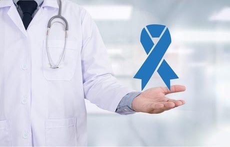 PROSTATE CANCER Medicine doctor hand working